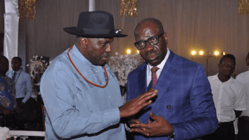 Godwin Obaseki and James Ibori