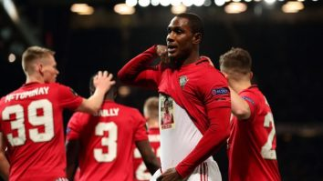 Ighalo Scores Debut Manchester United Goal
