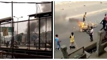 So Sad: Schoolgirl Killed By Stray Bullet As Okada Riders And Police Clash Over Ban In Lagos (Video)