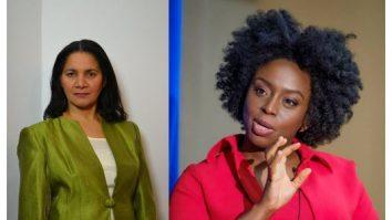 Anne Giwa-Amu and Chimamanda Ngozi Adichie