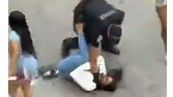 Miami Police Officer Assault video