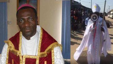 Video Of Archbishop Samson Mustapha Benjamin Protesting Against 5G Network Goes Viral