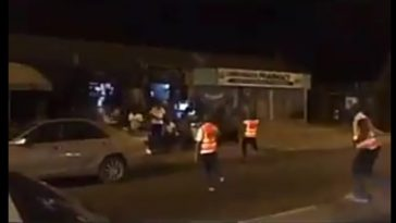 Viral Video Cross River's COVID-19 Taskforce Flogging Defaulters Seen Outside During Curfew
