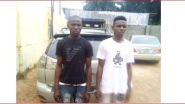 Emmanuel Nwafor and Chukwuebuka Obi