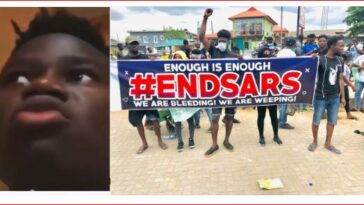 """I don't care about #EndSARS"" – Nigerian man slams protesters"