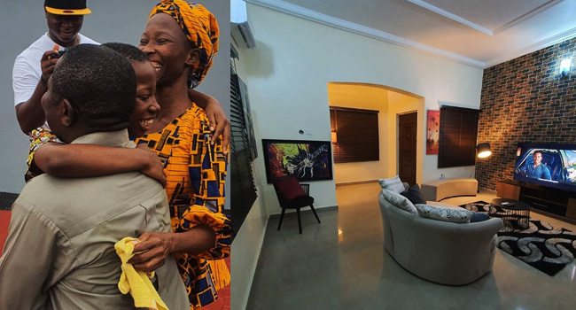 10-Year-Old Comedienne Emmanuella Gifts Her Mother A New House | Photos
