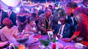 Singer Seun Kuti Walks Out On Governor Sanwo-Olu At Sister's Birthday