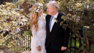 Boris Johnson marries Carrie Symonds