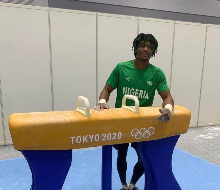 Nigeria's First Olympic Gymnast,