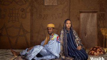 Princess Zahra Ado Bayero and Yusuf Buhari