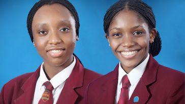 Greensprings-students - Chioma Abone and Emmanuela Ilok